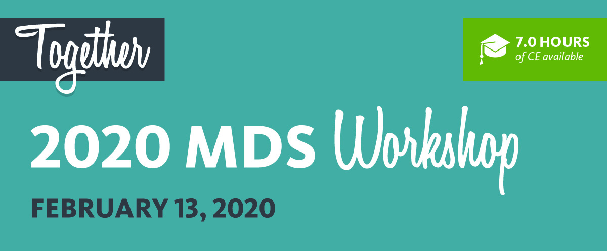 MDS Workshop Banner with Together and Date